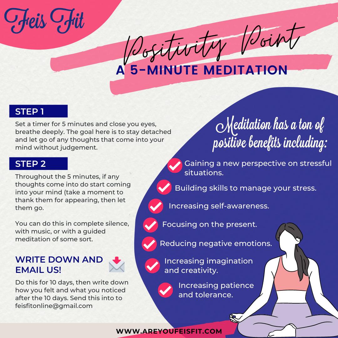 A 5-Minute Meditation